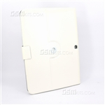 Galaxy Tab 3 10.1 P5210 Wallet Case White