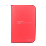 "Galaxy Tab 3 8.0"" T310 Wallet Case Red"