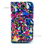 iPhone 4S/4 Wallet Case Design Mixed Colours