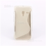 Pixi 3 (4) Gel Case White