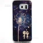 Galaxy Note 5 N920 Gel Case Design Blu-Ray White Dandelion