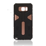 Galaxy Note 5 N920 Hard Case 2-in-1 Plastic + TPU Hybrid Phone Cover Bronze