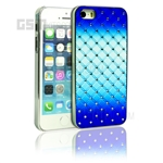 iPhone SE/5s/5 Blue and White zigzag Daimond Case