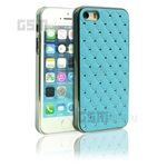 iPhone SE/5s/5 Light Blue zigzag Daimond Case