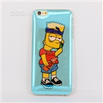 iPhone 6/6S Plus Gel Case Design Bart Simpson
