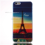 iPhone 6/6S Plus Gel Case Design Blu-Ray Eiffel Tower