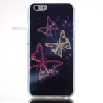 iPhone 6/6S Plus Gel Case Design Blu-Ray Colorful Butterflies