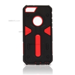 iPhone 6/6S Plus Hard Case 2-in-1 Plastic + TPU Hybrid Phone Cover Red