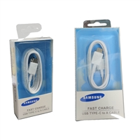 Original Samsung S8 USB Cable Type C (EP-DW700CWE) White In Retail Box