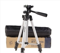 Tygot JF-3110 4.5 Feet Aluminum Professional Tripod with Bluetooth Switch Button