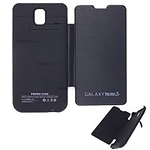 Galaxy Note 3 N9005 Power Case Wallet 5200mAh Black