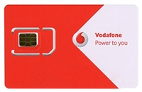 3 in 1 Vodafone Sim Card