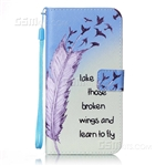 iPhone 8/7 Plus Wallet Case Design Take Those Broken Wings And Learn To Fly