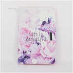 Galaxy Tab A 9.7'' T550 Wallet Case Design Life Is Beautiful