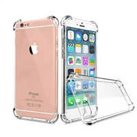 iPhone SE/5s/5 Shockproof Transparent Gel Case