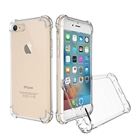 iPhone 6/6S Shockproof Transparent Gel Case
