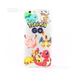 iPhone 6/6S Plus Gel Case Design Pokemon GO Characters