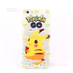 iPhone 6/6S Plus Gel Case Design Pokemon GO Pikachu Eating
