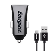 Energizer Car Charger With Micro-USB Cable 1A Black