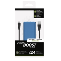 Mophie Power Boost 5200 mAh 5V/2.4A Power Bank Blue