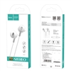Hoco M57 Sky Sound Universal Earphone with Mic White
