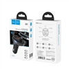 Hoco E41 In-Car Audio Wireless FM Transmitter Black