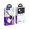 Hoco J41 Dual USB With Micro Lightning & Type-C Input PowerBank 5V/2A 10000mAh White