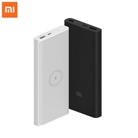 Xiaomi PLM11ZM Power Bank 10000mAh Fast Wireless Charger with USB Type C Black