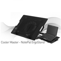 "M25 Cooling Fan For Laptop & NoteBook 9""-17"" Inch Black"
