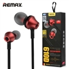 Remax RM-610D Stereo Music In-Ear Wired Earphones With Key Control & Mic Red