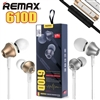 Remax RM-610D Stereo Music In-Ear Wired Earphones With Key Control & Mic Gold