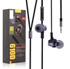 Remax RM-610D Stereo Music In-Ear Wired Earphones With Key Control & Mic Black