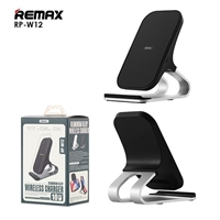 Remax  RP-W12 Alluminium Alloy 10W Wireless Charger 5V/2A Black