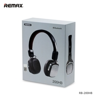 Remax RB-200HB Foldable Bluetooth Headphone Black