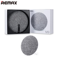 Remax RB-M9 Ultra Thin Fabric Wireless Bluetooth Speaker White