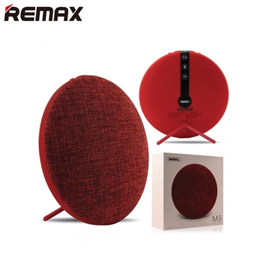 Remax RB-M9 Ultra Thin Fabric Wireless Bluetooth Speaker Red
