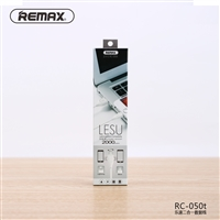 Remax RC-050t 2 in 1 Lightning&Micro Compatibility Cable 2M White