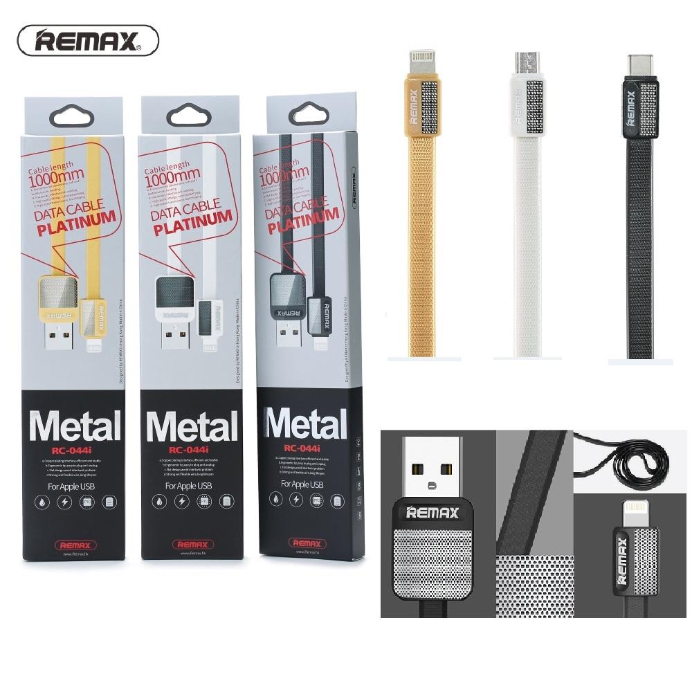 Remax RC-044m Platinum Micro Cable Black