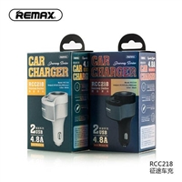 Remax RCC218 Journey Series 2 USB Car Charger 5V/4.8A White