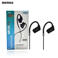 Remax RB-S19 Wireless Sports Earphone With Mic Black