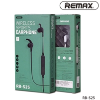 Remax RB-S25 Neckband Bluetooth Wireless Sports Earphones Black