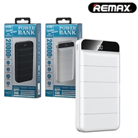 REMAX RPP-140 Dual USB Powerbank 20000mAh 5V-2A White