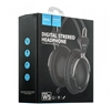 HOCO W5 Manno Wired Over-ear Stereo Headphone with Remote Control and Mic Black