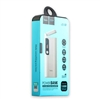 Hoco B27 Dual USB With Lamp PowerBank 5V/2A 15000mAh White