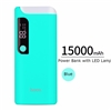 Hoco B27 Dual USB With Lamp PowerBank 5V/2A 15000mAh Blue