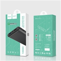 Hoco J2 Beibo QC 3.0 Dual USB PowerBank 5V/3A 10000mAh Black