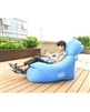 Hoco Reo Single Inflatable Sofa Sky Blue