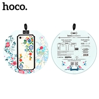 Hoco iPhone XS/X Summery Flower Protective Case Lilac