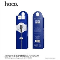 Hoco X20 Flash Lightning Charging Cable 1M Black