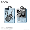 Hoco U33 Retractable Micro Charging Cable Black